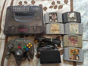 Nintendo 64 Funtastic Smoke Gray + 6 Games