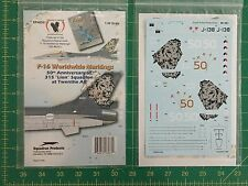 F-16  Decals Worldwide Markings  Eagle Strike  No. EP48261 1:48 scale