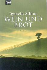 Wein und Brot von Ignazio Silone
