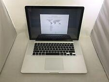 MacBook Pro 15 Mid 2010 MC373LL/A 2.66GHz i7 8GB 256GB SSD Fair