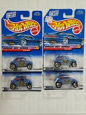 4 HOT WHEELS VW Volkswagen Baja BUG BUGS Bugging Out Series MOC