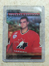 13-14 UD Team Canada Special Edition Gold Die-Cut #SE48 CURTIS JOSEPH
