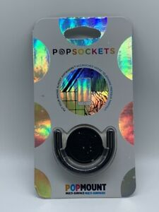 PopSockets PopMount 2 Multi-Surface for PopSockets PopGrip - Black - NEW !!!