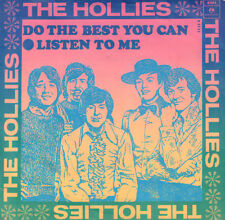 "HOLLIES ‎– Do The Best You Can (1968 VINYL SINGLE 7"" DUTCH PS)"