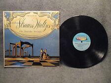 "33 RPM 12"" Record Johann Strauss Waltzes The Danube Strings Somerset P-2000 VG+"