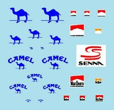 F1 DECALS MUSEUM COLLECTION D442 1/43 FOR WILLIAMS FW14 TAXI SENNA
