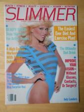 Rare SLIMMER female bodybuilding fitness muscle magazine/JUDY LANDERS 6-83