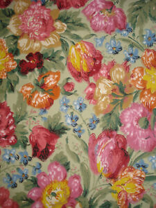 """2 pieces of antique french 19 th century floral wallpaper 19,5"""" x 13"""" each"""