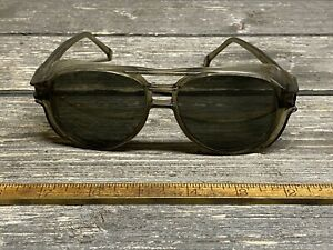 Vintage A O Tinted Safety Glasses Unabomber Look