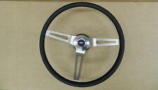 Comfort Grip Steering Wheel Kit Black Cushion 3 Spoke Camaro Chevelle Nova Elcam