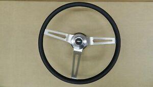 Comfort Grip Steering Wheel Kit Black Cushion 3-spoke Camaro Chevelle Nova ElCam