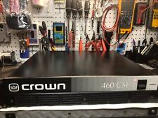Crown 460-Csl Pro Audio Amplifier Mint Condition Thx Certified