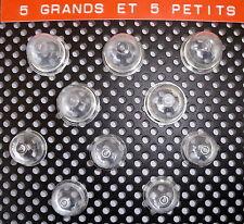 lot de dix bulbe neufs  pompe poire d'amorcage  carburateurs deux dimensions