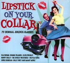 LIPSTICK ON YOUR COLLAR - 75 ORIGINAL JUKEBOX CLASSICS (NEW SEALED 3CD)