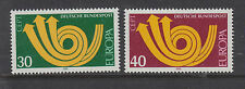 WEST GERMANY MNH STAMP DEUTSCHE BUNDESPOST 1973 EUROPA SG 1661-1662