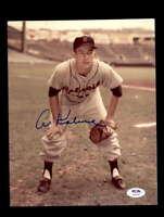 Al Kaline PSA DNA Cert Hand Signed 8x10 Photo Tigers Autograph