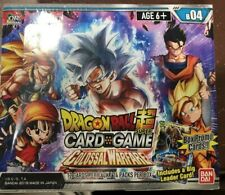 Dragon Ball Z Colossal Warefare Sealed Booster Box 24 Packs Card Game