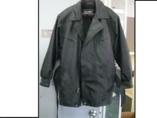 NICE!!!! Wilson's The Leather Experts SZ M Mens Long Coat w/Zipper Lining #2370