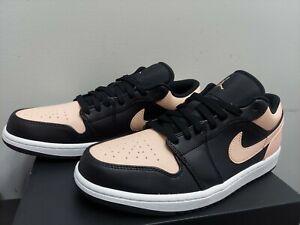 Nike Air Jordan 1 Low Crimson Artic Orange  Sz 10 NEW *5⭐Seller*⚡Shipping🔥