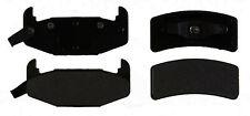 Disc Brake Pad Set-Semi Metallic Disc Brake Pad Rear ACDelco Pro Brakes 17D377M