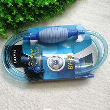 Aquarium Clean Vacuum Water Change Gravel Cleaner Fish Tanks Siphon Pump Filter