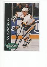 DOUG CROSSMAN Autographed Signed 1992-93 Parkhurst card St. Louis Blues COA