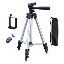 Portable 3 in 1 Camera 3110 Tripod Stand with Phone Clip and Bluetooth Shutter