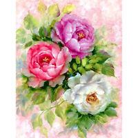 60*70cm Bottle of Flower Full Drill 5D Diamond Painting Cross Stitch Kits Diy