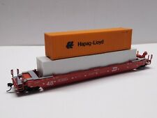 HO Scale - Athearn Burlington Northern Husky Stack Train 64036 w/ (2) Containers