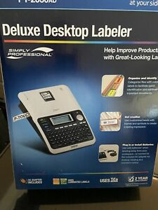 Brand New BROTHER PT2030AD PERSONAL LABEL PRINTER