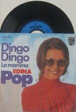 "Edina Pop la Mamma ( CV Charles Aznavour ) / Dingo Dingo , 7"" 45"