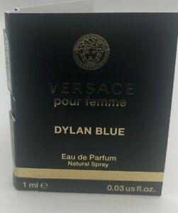 Versace Dylan Blue Pour Femme Eau de Parfum EDP 1 ml / 0.03 oz sample vial trave