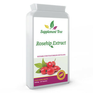 ROSEHIP High Strength 5000mg 120 Capsules - Rose Hip Extract With Vitamin C
