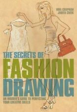 The Secrets of Fashion Drawing,Noel Chapman and Judith Cheek,New Book mon0000093
