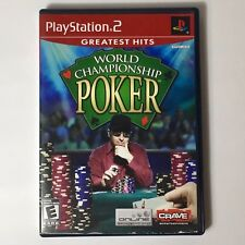 World Championship Of Poker Ps2 Great condition