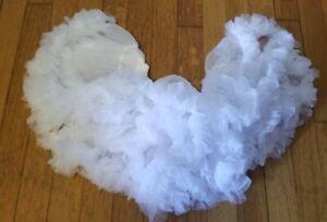 White Petticoat Costume Accessory - Leg Avenue - One Size