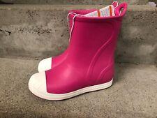Crocs - Infantil Botas de Goma en Caramelo Rosa - Gr Nuevo 28 S378f