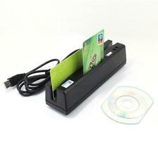 Zcs160 4-in-1 Usb Magnetic Stripe Card Reader + Emv/Ic Chip/Rfid/Psam Reader