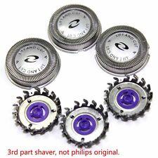 3X For Philips Norelco HQ56 HQ55 HQ4 HQ3 Reflex Plus 6863XL Shaver Heads USA