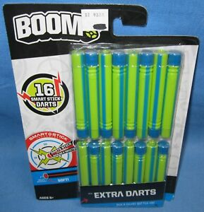 BOOMco. Extra Darts ~ a 16 Pack ~ Choice Coloring
