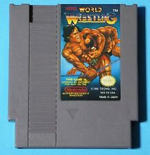 Tecmo World Wrestling (Nintendo Entertainment System, 1990) AUTHENTIC! WORKS!
