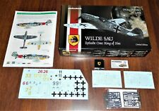 Me Bf109 WILDE SAU Episode One Ring of Fire Dual Combo 1:48 Eduard 11140 limited