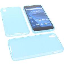 Case for Blackberry DTEK50 Cell Phone Pocket Cases TPU Rubber Case Blue