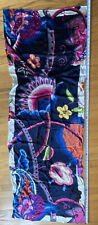 Vintage Ted Baker London Silk Scarf Embroidery stitched Pattern