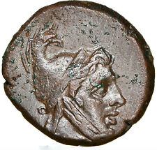 ca. 85-65 BC Pontus Amisus Æ Time of Mithradates VI Eupator NGC AU