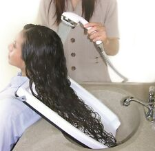 Hair Shampoo Tray Basin Washing Rinsing Hair Chair  Wheelchair portable Safety