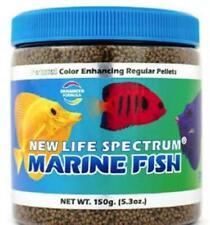 New listing New Life Spectrum Marine Fish Food Regular Color Enhancing Sinking Pellet 150g