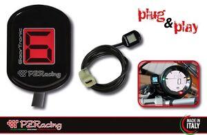 DUCATI MONSTER 696 / 796 / 1100 PZRacing Zero Plug&Play Gear Indicator D255