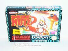 JEU SUPER NINTENDO COMPLET EN BOITE MR.NUTZ