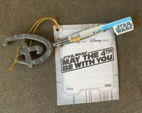 NWT Disney Store Star Wars May The Fourth 4th Be With You Limited Key In Hand